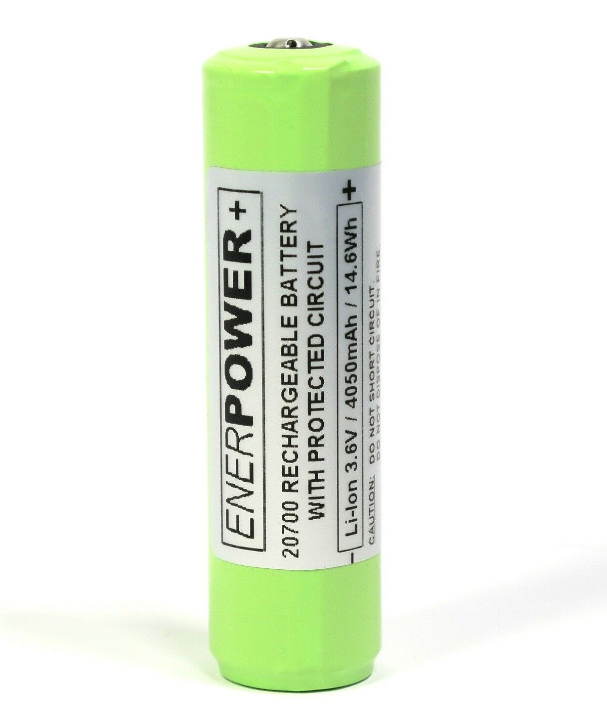 Enerpower VC+ 20700 4050 mAh 3,6V Li-Ion Akku geschützt PCM 12A (Pluspol erhöht) | Hochwertig