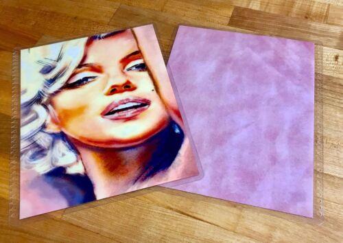 Marilyn Monroe Glam Cover Set for use w// Erin Condren Life Planner