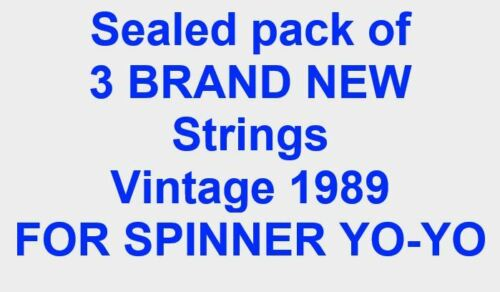 Replacement strings coca cola Russell spinner yo-yo genuine brand new pack of 3