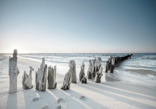 Fototapete Tapete Wandbild F19051 Meer Strand See Wasser Sommer Landchaft Wellen
