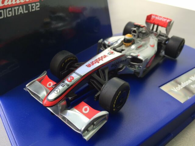 carrera 30599 mclaren-mercedes vodafone race car 2011 no.3 | ebay