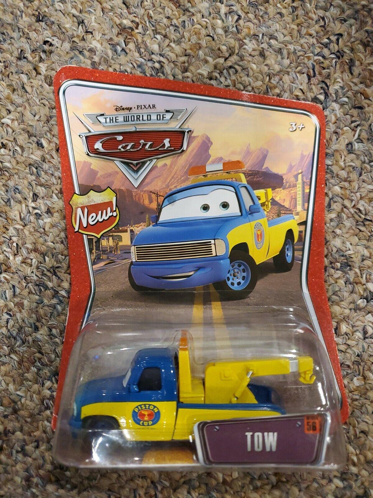 TOW #56 Disney Pixar Cars Diecast Truck 1:55 World WoC Tom Piston Cup M2320 NEW