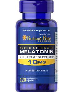 Puritan-039-s-Pride-Melatonin-10-MG-Night-Sleep-Aid-120-capsules