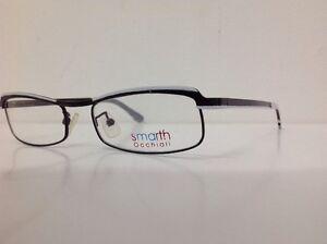Smarth-montatura-da-vista-made-in-italy-Metallo-Bianco-Nero-Ovale-mod-29-93-c15