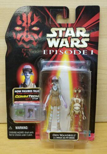 Star Wars EP1 ODY MANDRELL avec OTOGA 222 Pit Droid Nouveau Dans La Boîte Commtech 3 3//4 TPM