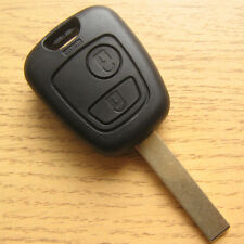 Replacement 2 Button Key Remote FOB Case PEUGEOT 307 206 207 107 406 306 Partner