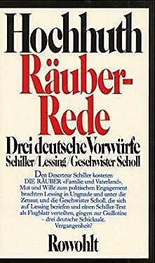 Rauber-Rede (German Edition) by Hochhuth, Rolf