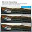 "miniatura 2 - TOGUARD 4K Dual Dash Cam Front Rear GPS Mirror Car Dash Cam 12 ""Cámara táctil ES"