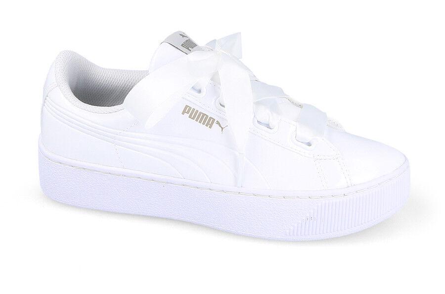Para mujeres Zapatos Tenis Puma Vikky plataforma cinta [366419 02]
