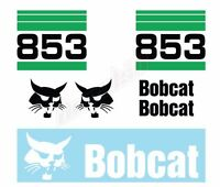 Bobcat 853 V2 Skid Steer Set Vinyl Decal Sticker - Aftermarket