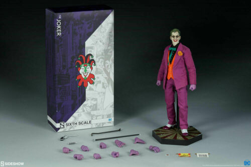 Sideshow Collectibles DC Comics The Joker 1//6 Scale Figure New Sealed