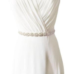 Brautkleid mit taillengürtel