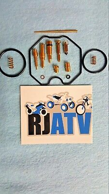 New 2009-2014 Polaris RZR 170 Complete Carburetor Carb Repair Rebuild Kit