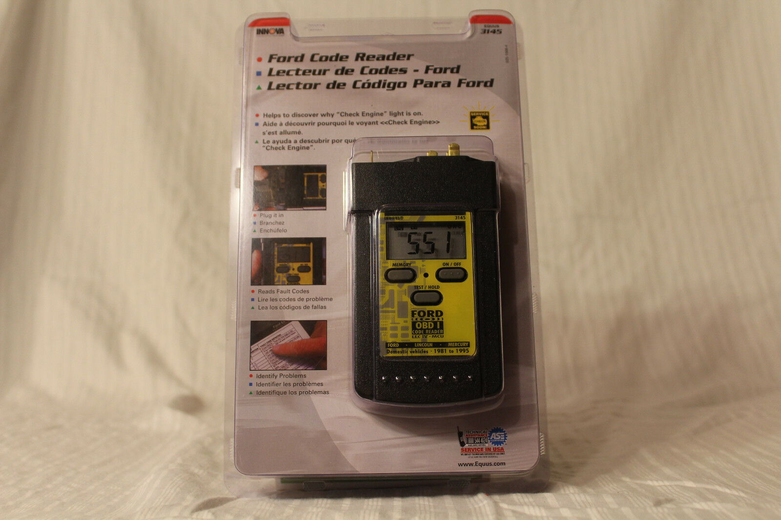 Equus Products - Digital Ford Code Reader 3145