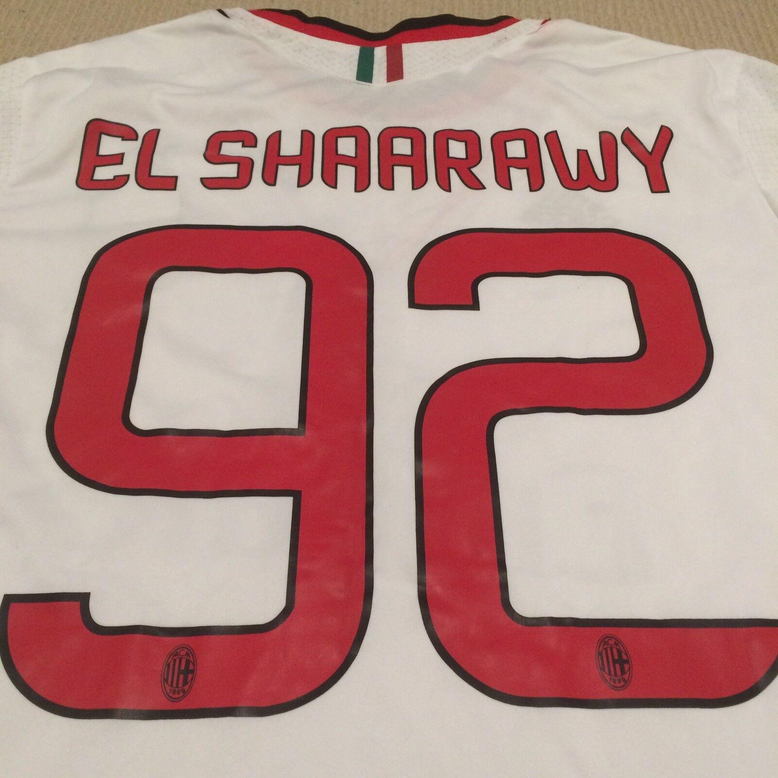 AC Milan EL Shaarawy adidas Away Jersey Shirt