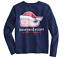 Vineyard-Vines-Girls-Deep-Bay-Santa-Hat-Whale-Graphic-Pocket-Long-Sleeve-T-Shirt thumbnail 1