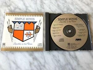 Simple Minds Sparkle In The Rain CD MADE IN JAPAN 1984 A&M CD-4981 RARE! OOP!