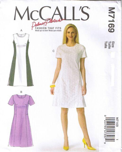 Misses Dress Size 4040 McCalls 7409 Sewing Pattern EBay Beauteous Princess Seam Dress Pattern