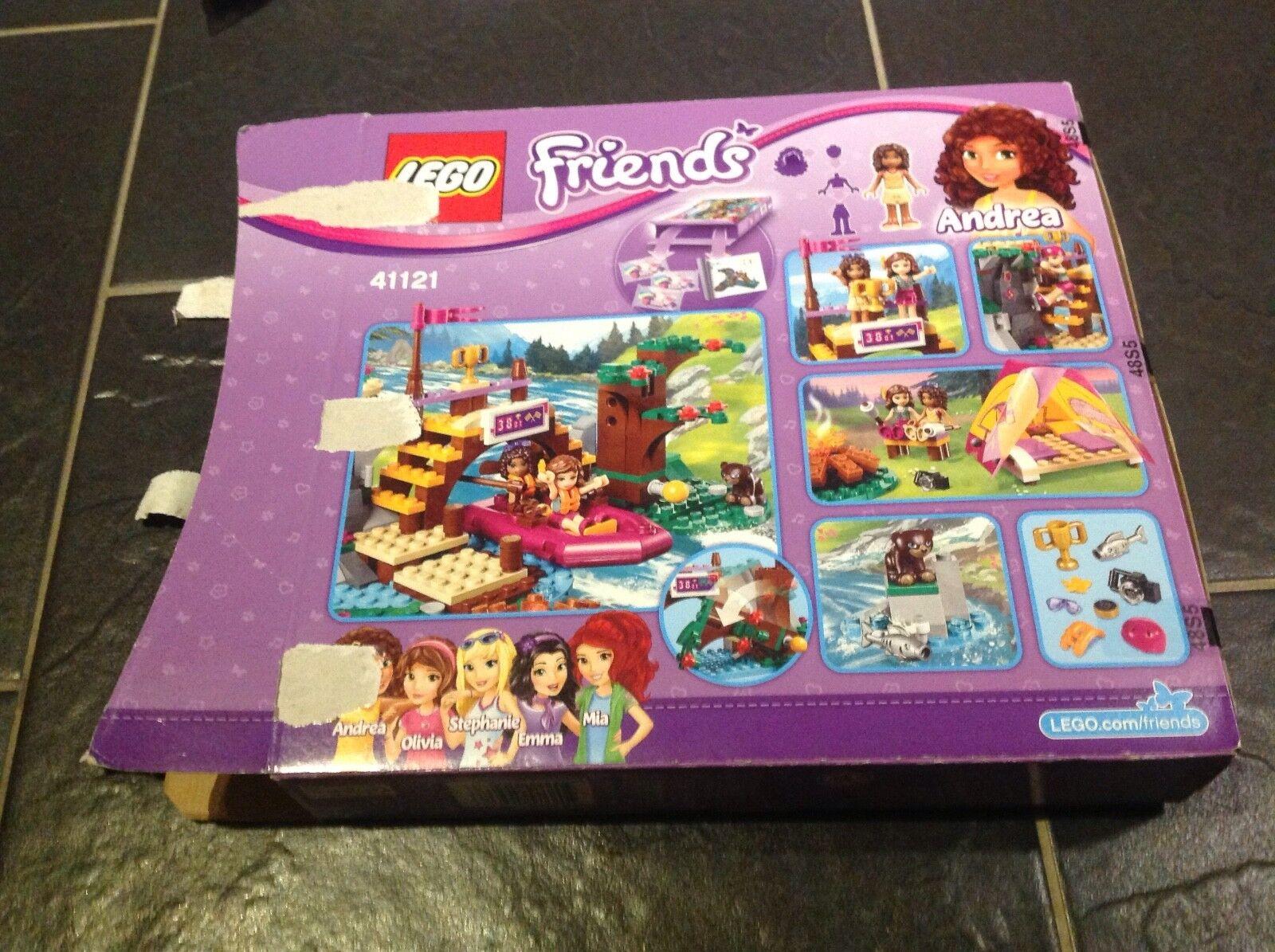 Lego - friends - abenteuer - camp zustand - rafting.41121.ausgezeichneter zustand camp cea43e