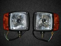 Snow Plow Headlight Set