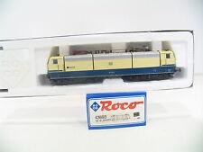 """ROCO 43693 E-LOK BR 181 """"SAAR"""" BLAU/BEIGE  der DB  mit DIGITAL DECODER   HI117"""