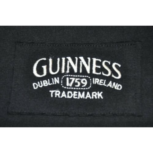 Brand New Guinness Black /& Cream long-sleeve Authentic Rugby Jersey Shirt