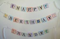 Care Bears Personalized Birthday Banner Party Favor, Shower Banner