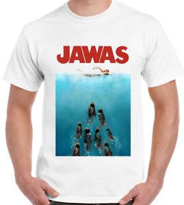 Jawas-T-Shirt-Mens-FunnyJaws-Parody-UNISEX-TOP-TEE