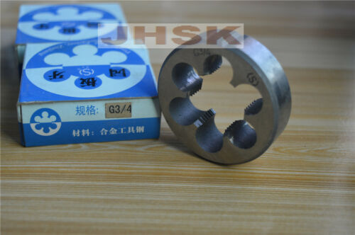 1PCS 14 TPI BSP Parallel British Standard Pipe Die  G 3//4 G 3//4/""
