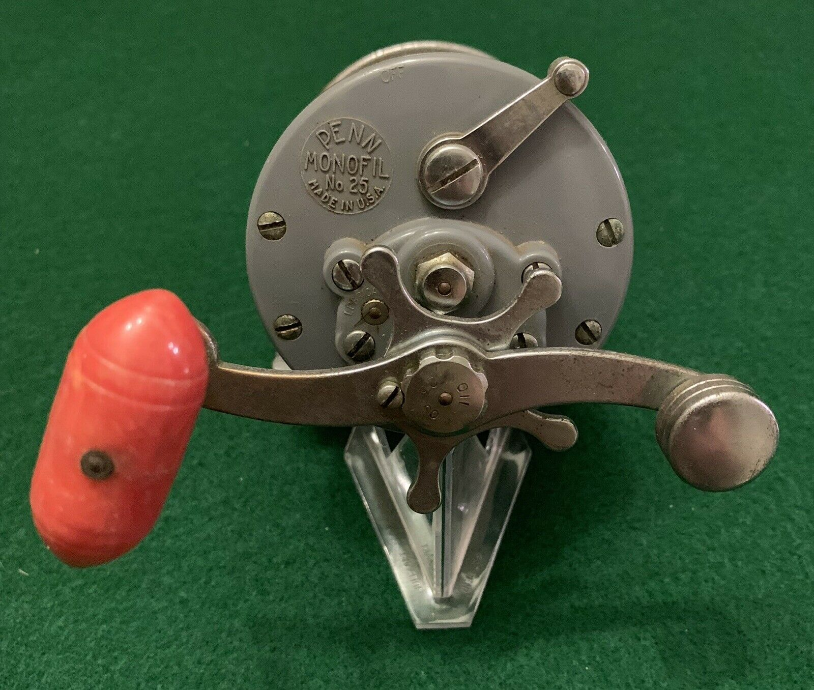 Penn Monofil 25  Conventional Fishing Reel Made In USA Great Collectible Or User  best-selling