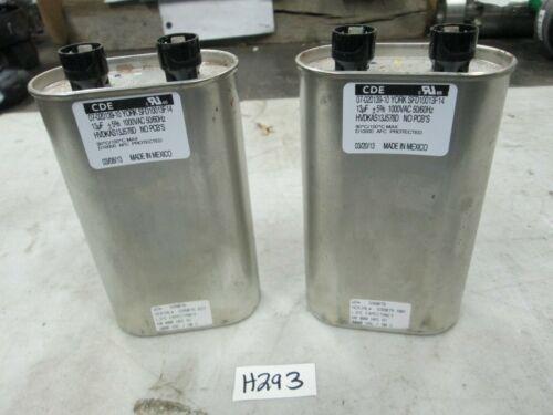 CDE Motor Run Capacitor 13uf 1000 VAC 50//60 Hz York SFD10013F14 Lot of 2 New