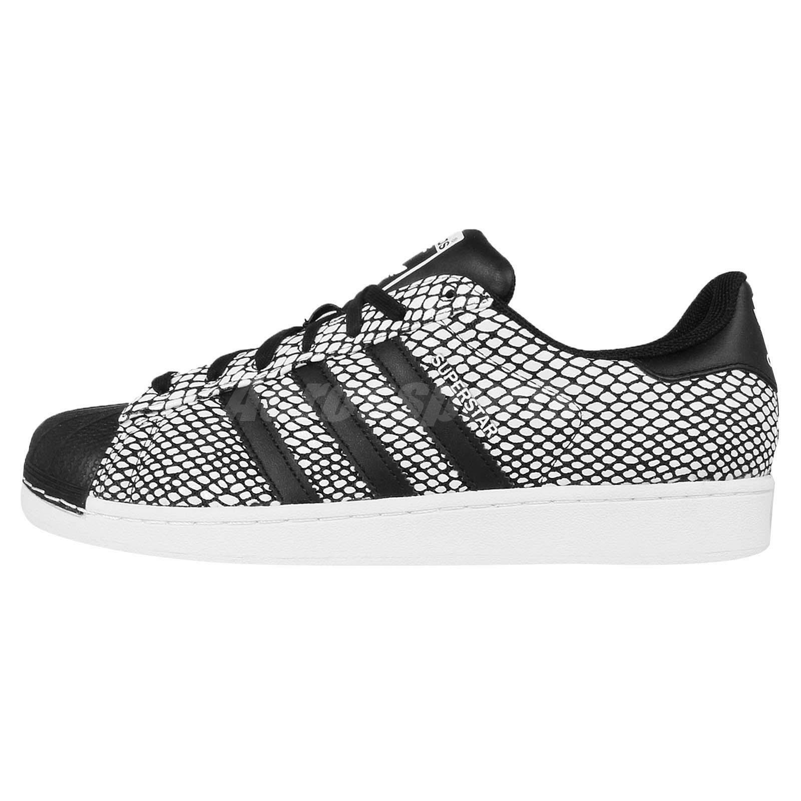 Adidas Superstar Snake Pack Black White Snakeskin Classic Shoes Sneakers  S81728 hot sale 2017