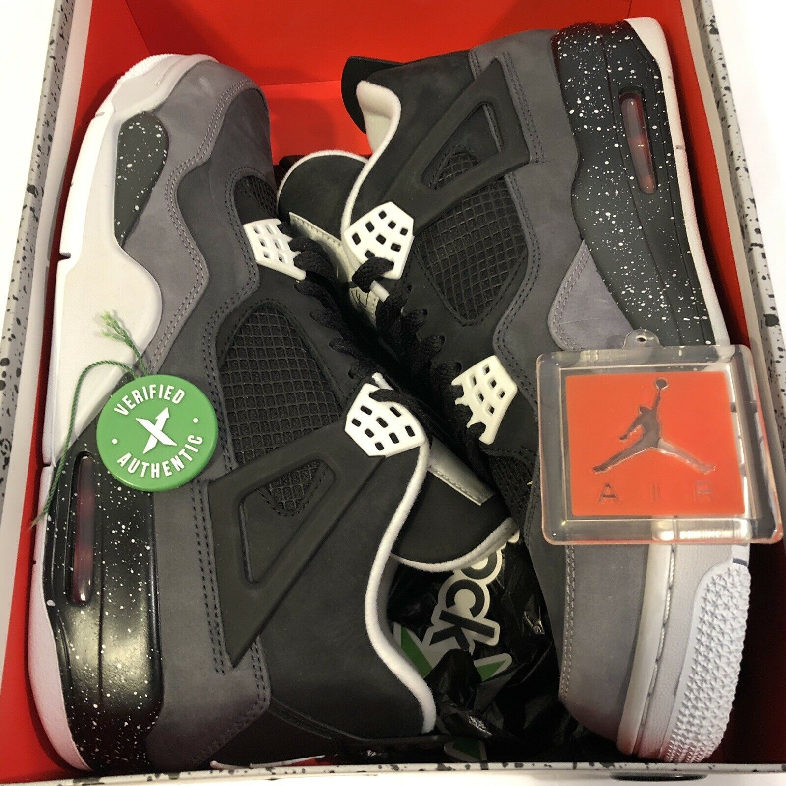 6a028f89 Nike Air Jordan 4 Retro Fear Size 10 (626969-030) for sale online | eBay
