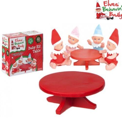 Weihnachten Frech Elf Requisite Mini Baby Tisch Geschenk Elfen Behavin Schwer