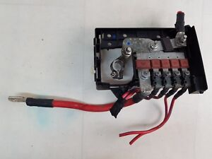 Details about VAUXHALL ASTRA J MK6 09-15 BATTERY TERMINAL FUSE BOX on