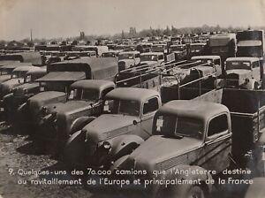 Camions-Anglais-ravitaillement-pour-l-039-Europe-1940-Ministere-de-l-039-information