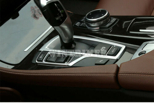 Inner Console Gear Box Sequins Cover Trim For BMW 5 Series F10 F11 2011-2016