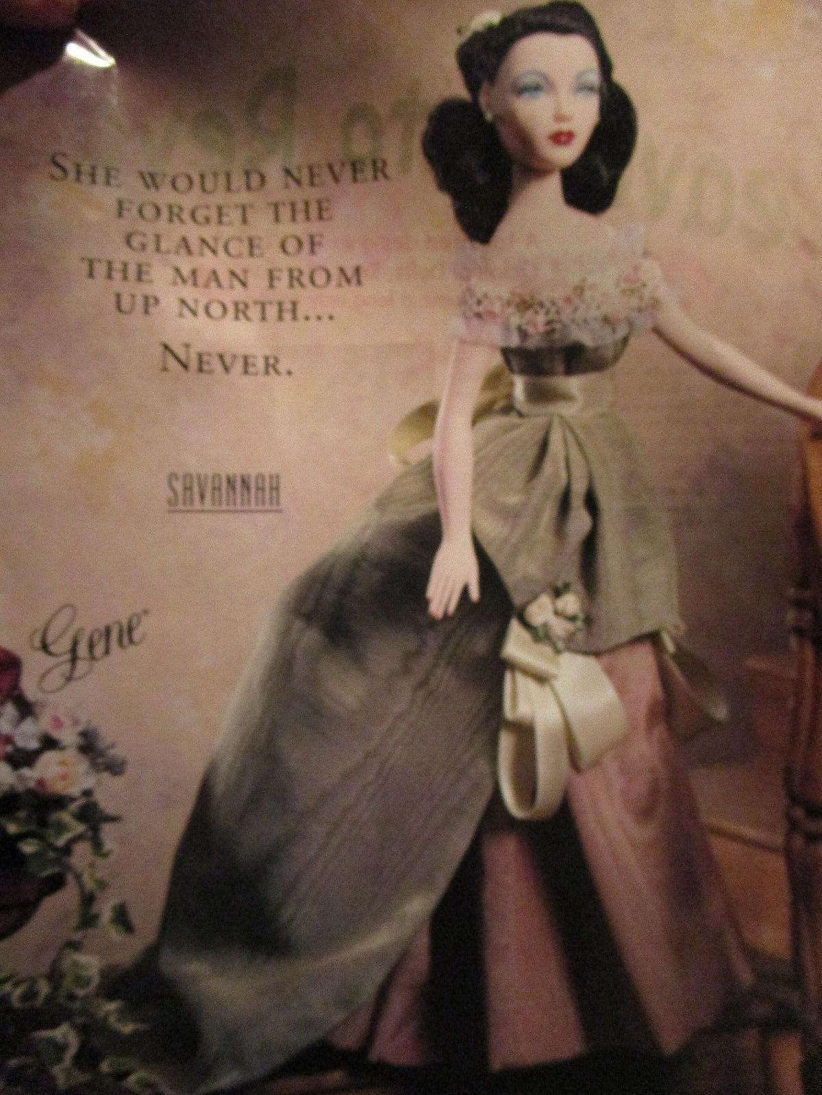 "16"" Ashton Drake Gene Doll Madra ""Unsung Melody"" Elegant Blue Gown MINT Box #ST"