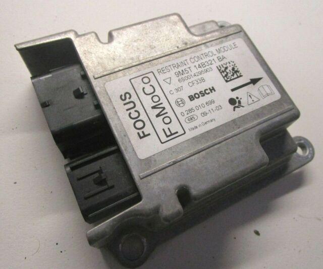Ford Focus mk2 RS airbag control system ECU module 9M5T-14B321-BA 2008-2011