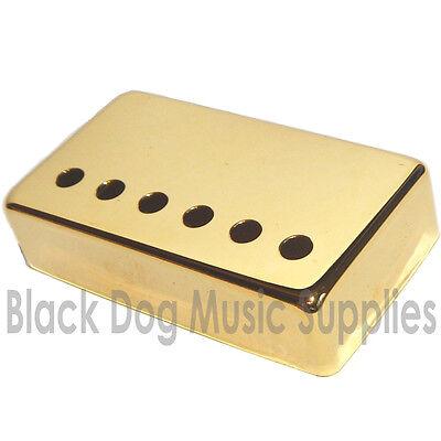 Humbucker Guitar Pickup Covers, in Chrome, Black, or Gold