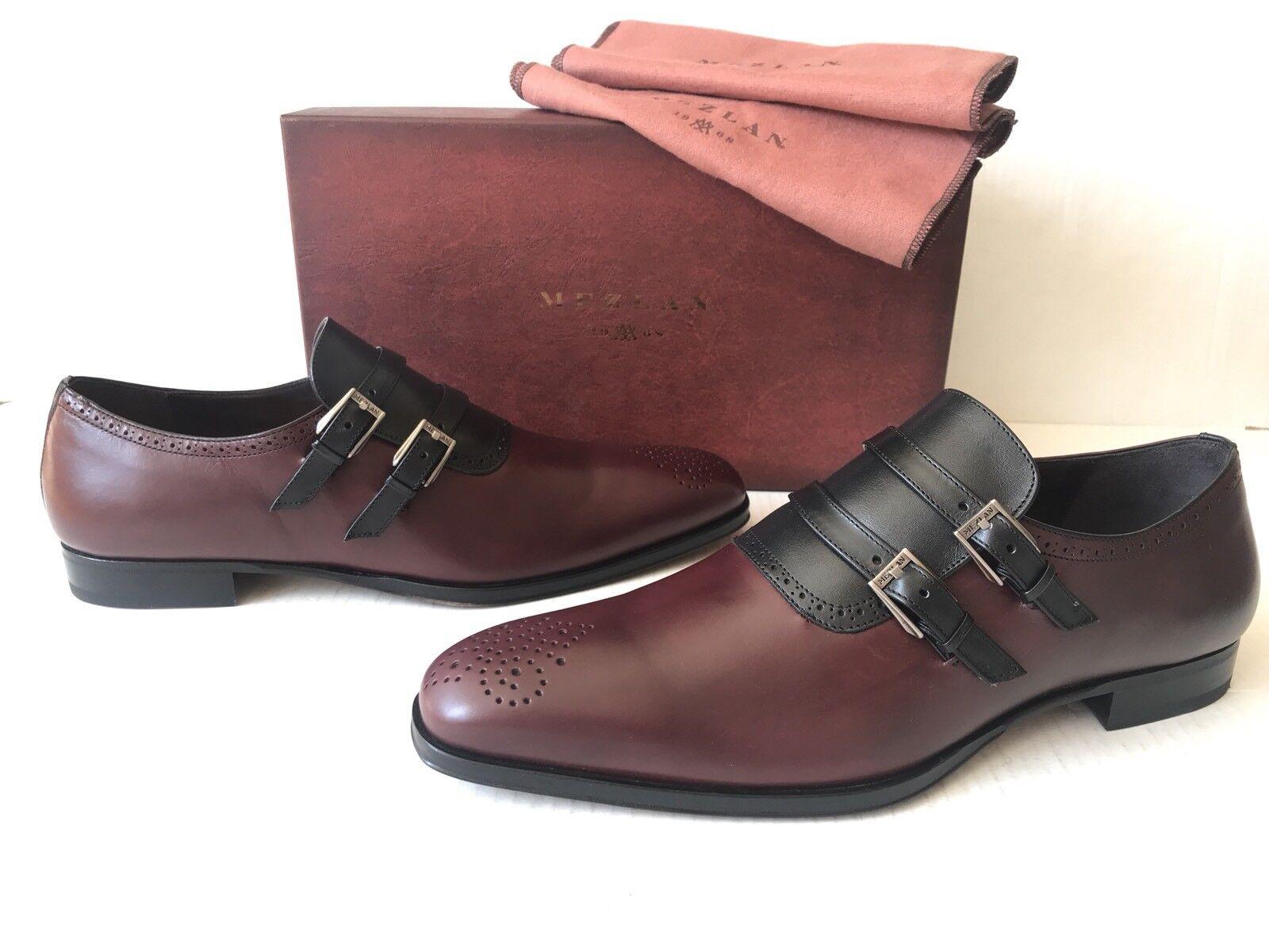 Zapato de vestir Mezlan de dos tonos. Talla 10.5. precio Minorista Sugerido por el fabricante   395.00