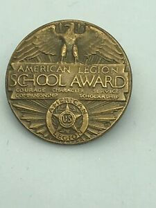 Vintage-American-Legion-School-Award-Pin-Brooch