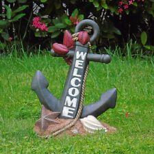 Anchor Statue Nautical Coastal Outdoor Lawn Garden Yard Pool Patio Deck Decor