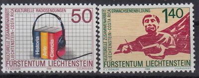 Cept-mitläufer jkc-126#1 Liechtenstein 1988 Postfrisch Mw 3,40 ** Mi 945-946