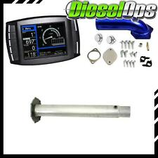 H&S Mini Maxx Tuner DO EGR/DPF Delete Pipe Kit for Powerstroke 6.4L