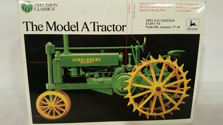 Ertl John Deere A 1 16 diecast farm tractor replica collectible