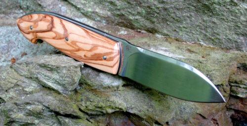 COLTELLO VIPER Timeless olive 12c24 SANDVIK acciaio olive legno teknocut v5400ul
