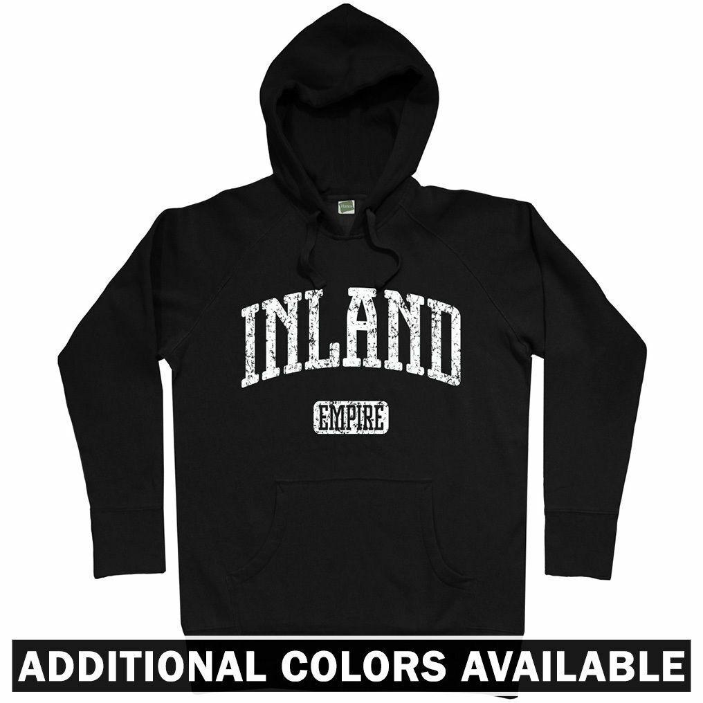 Inland Empire California Hoodie - CA San Bernardino Riverside 909 - Men S-3XL