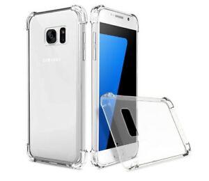 DE-LUXE-EN-SILICONE-DE-PROTECTION-TRANSPARENTE-Coque-Case-Cover-Pour-Samsung-Galaxy-S8-S7-S9