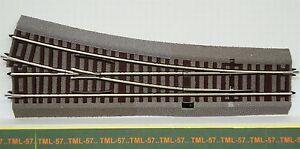 Voie-ROCO-LINE-Aiguillage-a-DROITE-15-ref-42533-Ballast-WR15-Code-83-no-Geoline